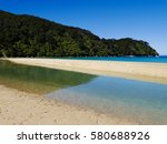 Small photo of Abel Tasman Nationalpark - Lahoon, New Zealand