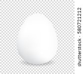 egg on a transparency... | Shutterstock .eps vector #580721212