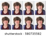 Stock photo official photo for identity document like an id card or a passport 580735582