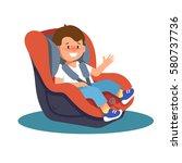 vector illustration of happy... | Shutterstock .eps vector #580737736