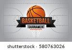 basketball tournament. vector...