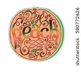 stickers  tags or labels of... | Shutterstock .eps vector #580772626