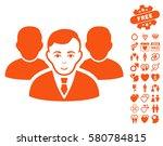 team icon with bonus decoration ... | Shutterstock .eps vector #580784815