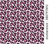 Leopard Skin Seamless Pattern...