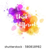 watercolor imitation background ... | Shutterstock .eps vector #580818982