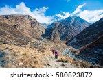 nepal   30 december 2016   ... | Shutterstock . vector #580823872