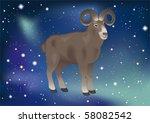 astrological zodiacal sign in... | Shutterstock .eps vector #58082542