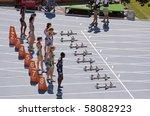 barcelona   july 28  european... | Shutterstock . vector #58082923