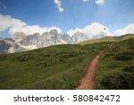 Pathways To Segantini Hut ...