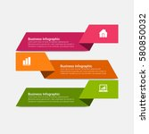 infographics vector elements | Shutterstock .eps vector #580850032