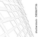 architecture 3d vector   Shutterstock .eps vector #580869736