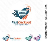 price tag logo design vector... | Shutterstock .eps vector #580884625