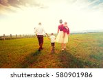 happy family | Shutterstock . vector #580901986