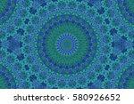 oriental decoration ornament... | Shutterstock . vector #580926652