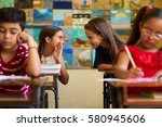 young people and education.... | Shutterstock . vector #580945606
