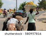 kigali  rwanda   circa july... | Shutterstock . vector #580957816
