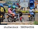 kigali  rwanda   circa july... | Shutterstock . vector #580964506