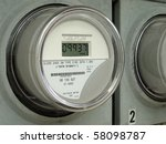 Modern Digital  Electric Meter