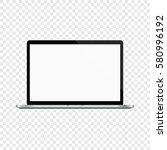 laptop. modern computer...