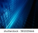abstract background element.... | Shutterstock . vector #581020666