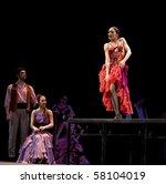 chengdu   dec 28  the ballet... | Shutterstock . vector #58104019