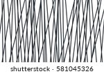 scattered lines with different... | Shutterstock .eps vector #581045326