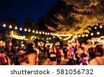 vintage tone blur image of... | Shutterstock . vector #581056732