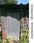 old bathroom | Shutterstock . vector #581058232