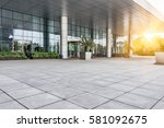 square of shanghai financial... | Shutterstock . vector #581092675