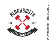Blacksmith Logo Design Template