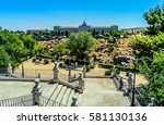 Small photo of View of Academia de Infanteria, a military institution in Toledo, Spain