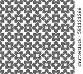 vector seamless pattern. modern ... | Shutterstock .eps vector #581131366