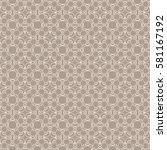 ethnic pattern. seamless vector ... | Shutterstock .eps vector #581167192