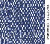 vector  weave grid watercolor... | Shutterstock .eps vector #581180956