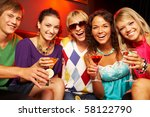 portrait of young people with... | Shutterstock . vector #58122790