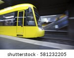 speeding subway | Shutterstock . vector #581232205