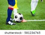 children football soccer... | Shutterstock . vector #581236765