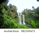 wide angle of tad yuang or...   Shutterstock . vector #581245672