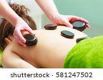 spa relaxation  healthy... | Shutterstock . vector #581247502