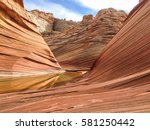 Sandstone Rock  The Wave In Th...