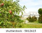 apple garden | Shutterstock . vector #5812615