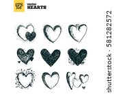 collection pack of vector... | Shutterstock .eps vector #581282572