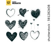 collection pack of vector... | Shutterstock .eps vector #581282608