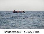mytilini  lesvos  greece  25...   Shutterstock . vector #581296486