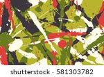 seamless texture of dynamic... | Shutterstock .eps vector #581303782
