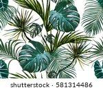beautiful seamless vector... | Shutterstock .eps vector #581314486