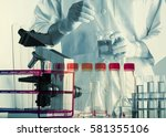 scientists and scientific...   Shutterstock . vector #581355106