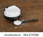 potato starch  gluten free... | Shutterstock . vector #581374588