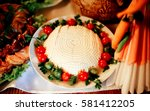 Exquisite Food With Tomatos An...