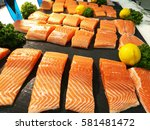 Salmon Pieces Up For Sale In...